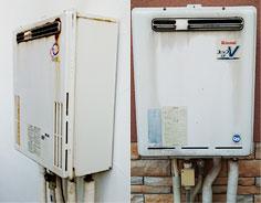 10年以上使用した給湯器は交換がおすすめ
